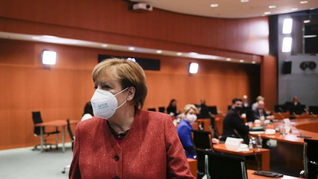 Am Montag ist es wieder soweit: Bundeskanzlerin Angela Merkel berät sich mit Länderchefs und –chefinnen zu den Corona-Maßnahmen.