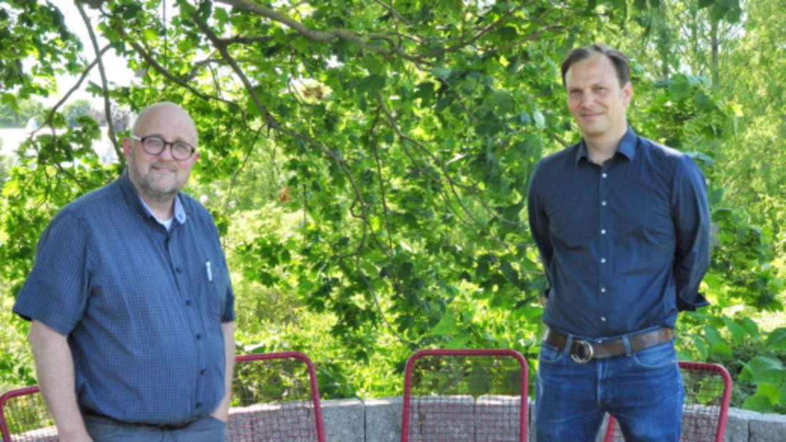 Parkchefs Joachim Költzsch und Philipp Goldschmidt.