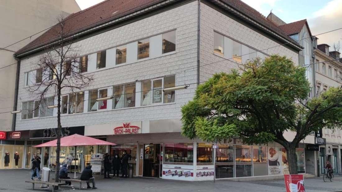 Das Eckhaus J1 in der Breiten Straße