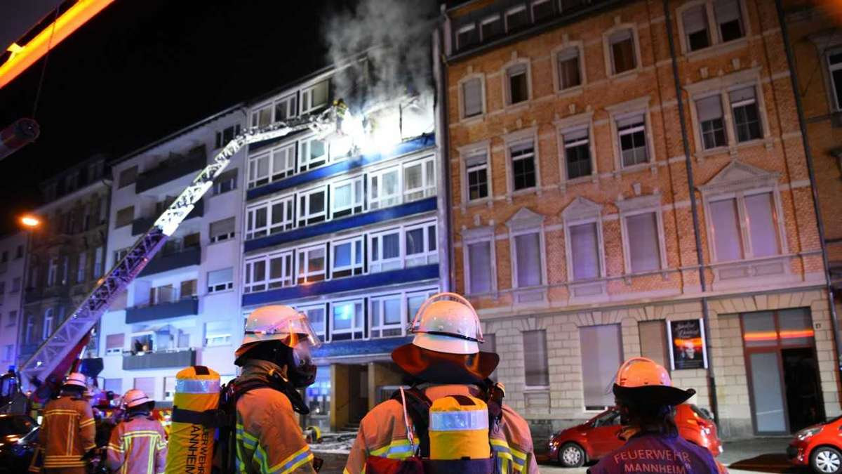 Feuer Mannheim