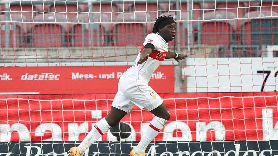 Tanguy Coulibaly vom VfB Stuttgart