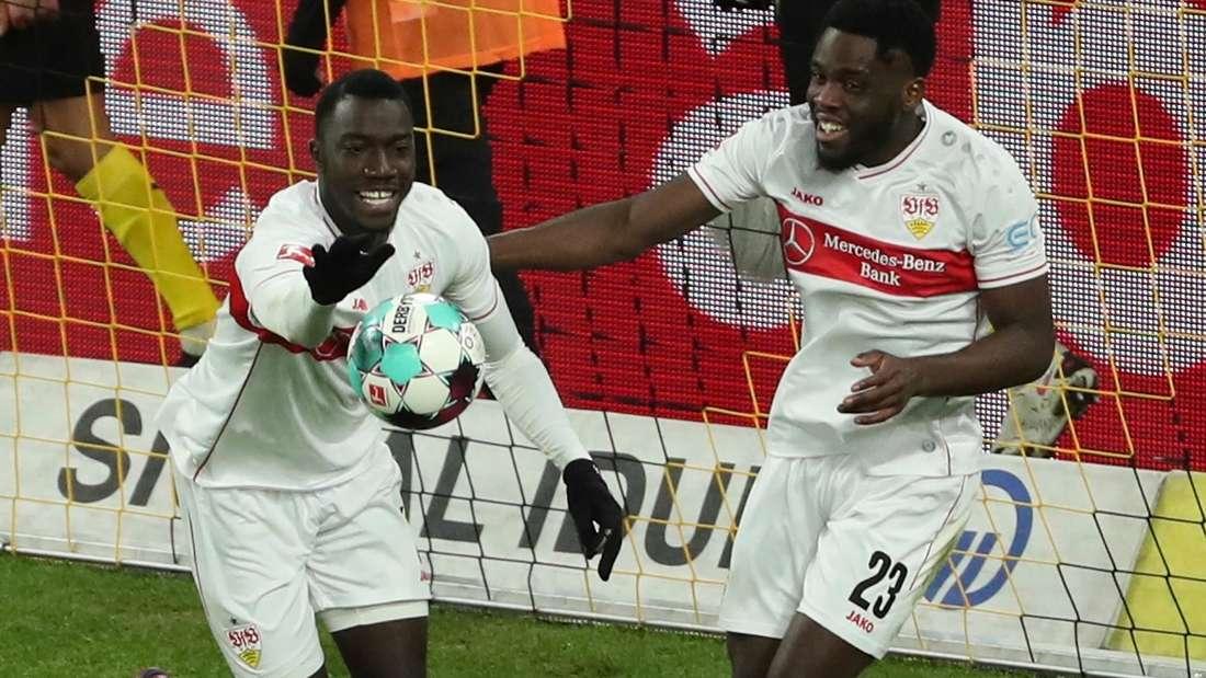 Jubel des VfB Stuttgart
