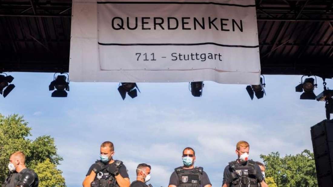Verfassungsschutz beobachtet «Querdenken»-Bewegung