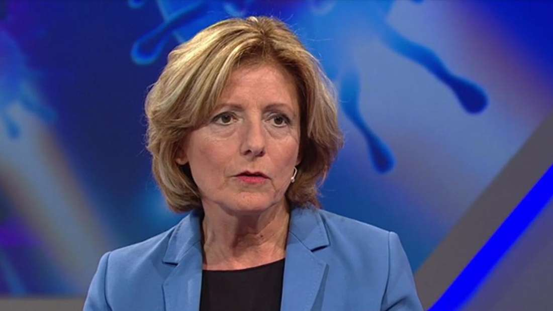 """Malu Dreyer in der Talkshow """"Maischberger. Die Woche.""""."""
