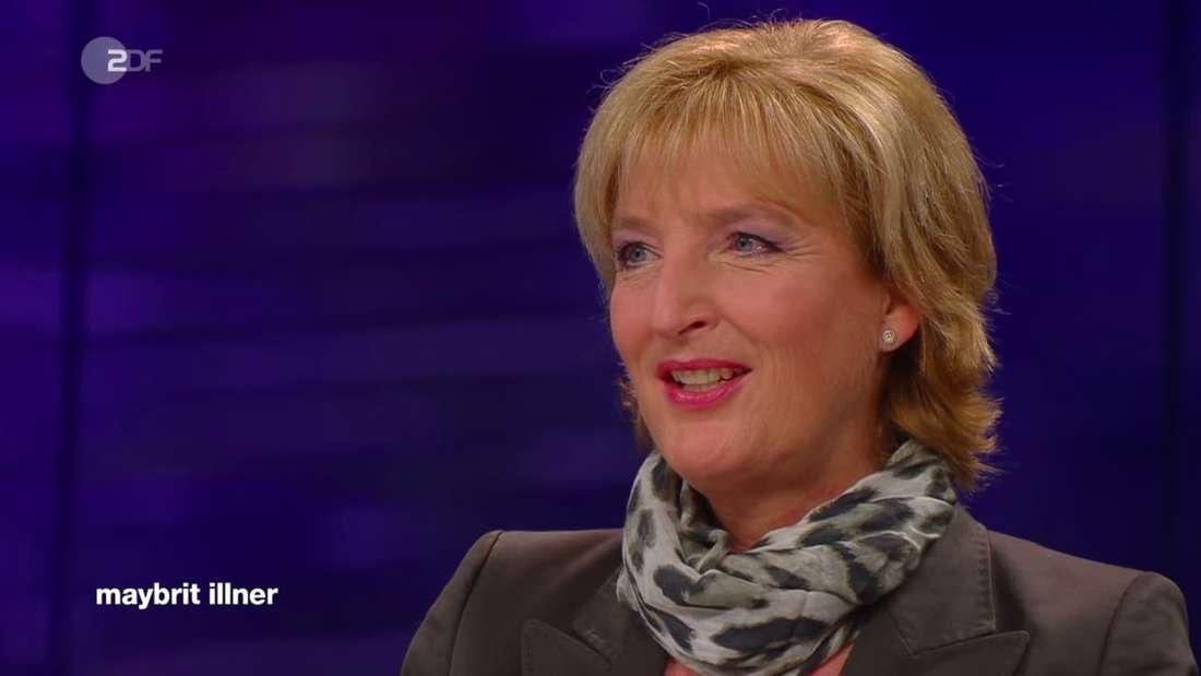 """Christiane Woopen, Medizinethikerin und Vorsitzende des Europäischen Ethikrates, zu Gast in der ZDF-Talkshow """"maybrit illner"""""""