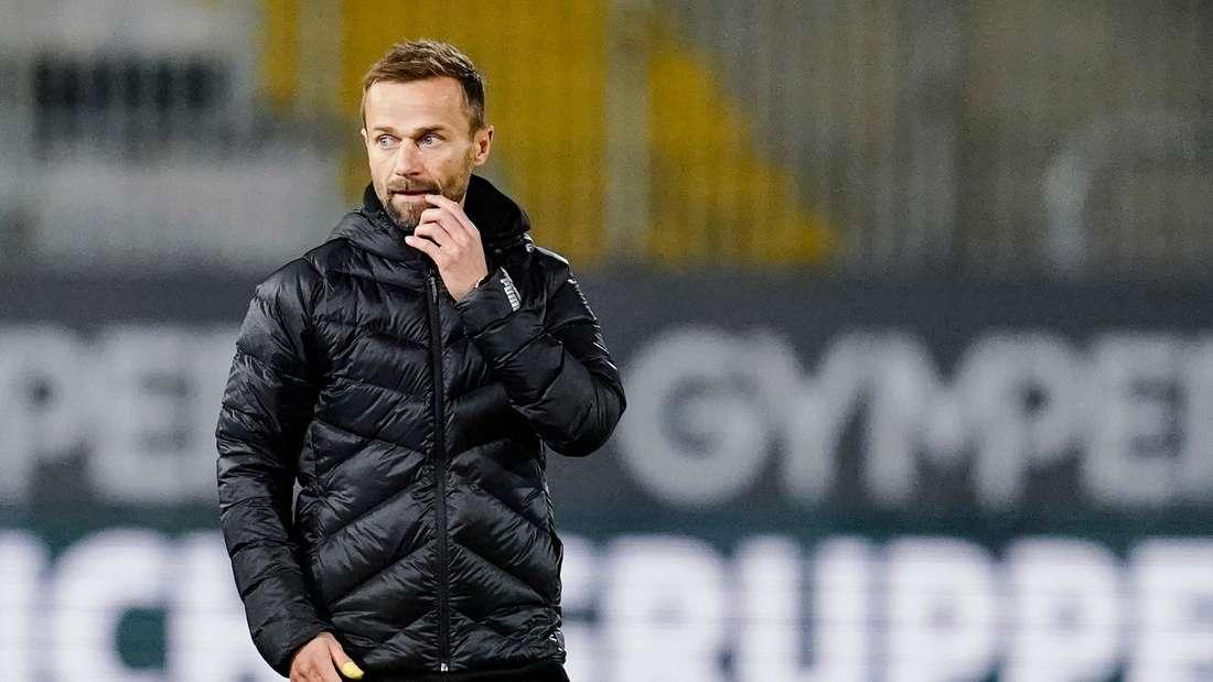 Der Druck auf Sandhausen-Trainer Michael Schiele wächst.