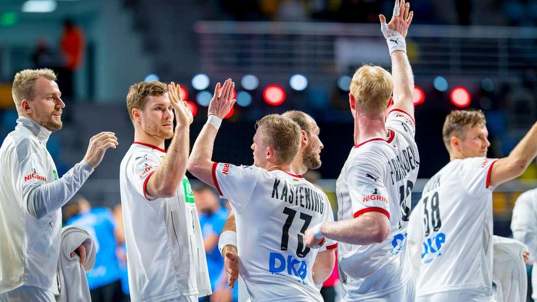 Das DHB-Team nimmt an der Handball-WM 2021 teil.
