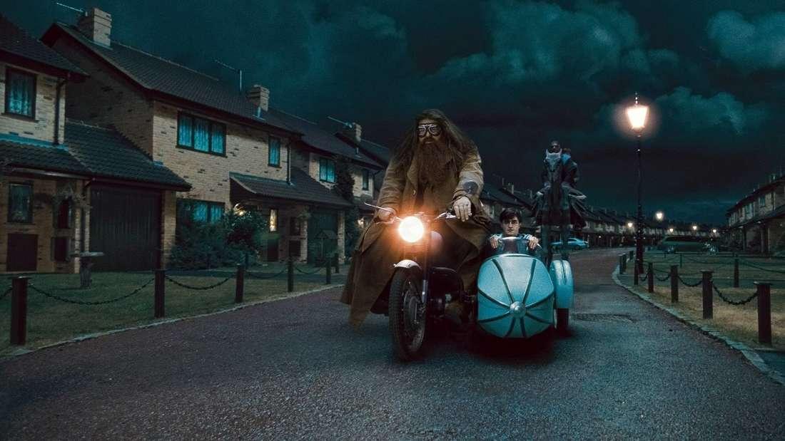 Robbie Coltrane als Rubeus Hagrid in Harry Potter und die Heiligtümer des Todes Teil 1 2010