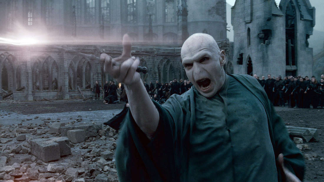 Ralph Fiennes als Voldemort in Harry Potter und die Heiligtümer des Todes Part 2 2011