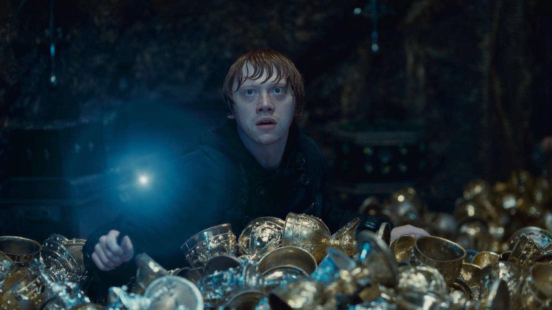 Rupert Grint als Ron in Harry Potter und die Heiligtümer des Todes Part 2 aus dem Jahre 2011