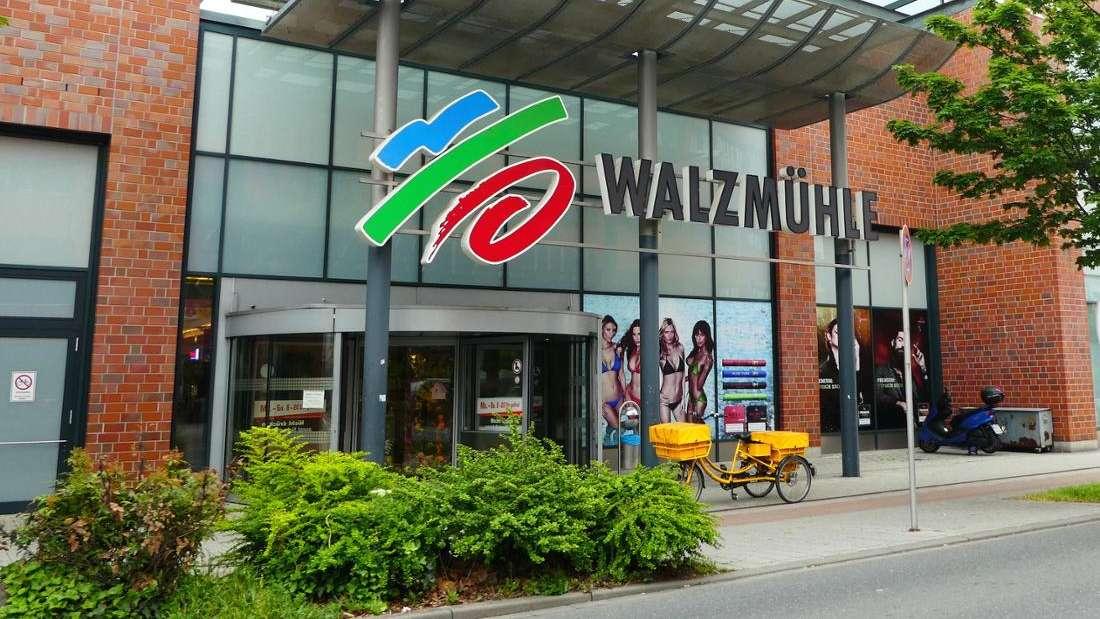 Das Einkaufszentrum Walzmühle in Ludwigshafen (Archivbild).
