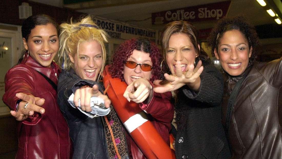 Die Girlgroup No Angels: Nadja, Sandy, Lucy, Vanessa und Jessica