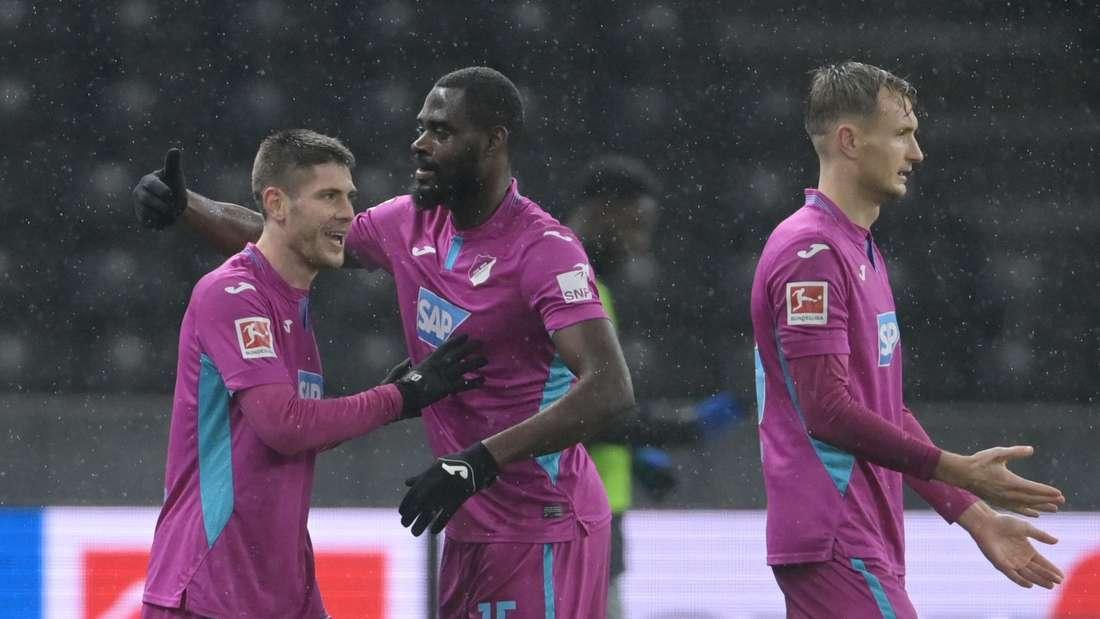 Die TSG Hoffenheim gewinnt bei Hertha BSC.