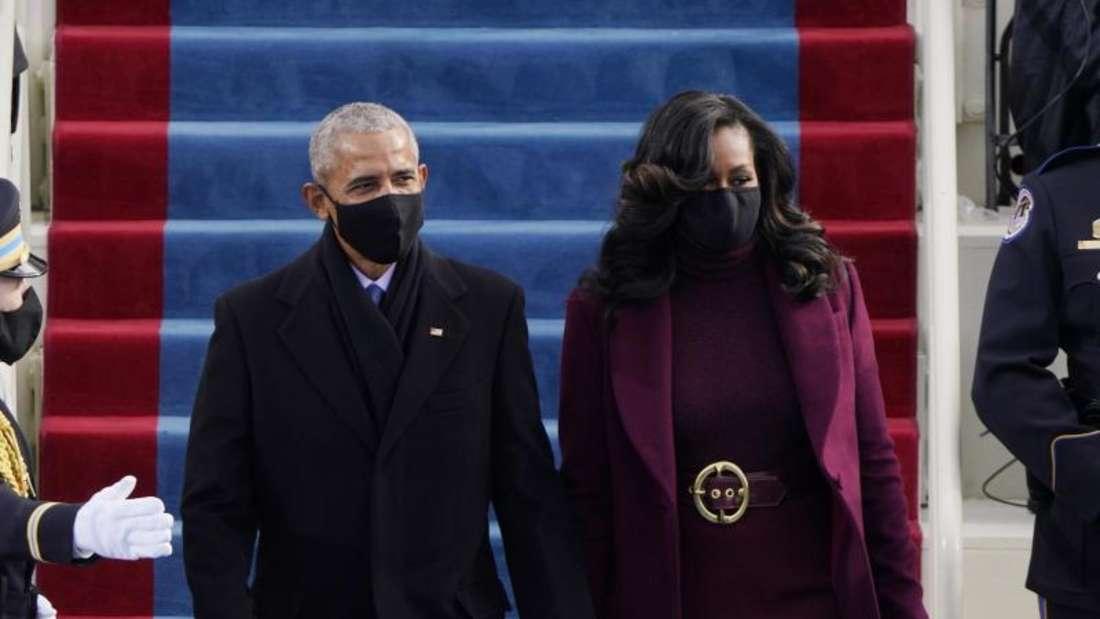 Amtseinführung Biden - Die Obamas