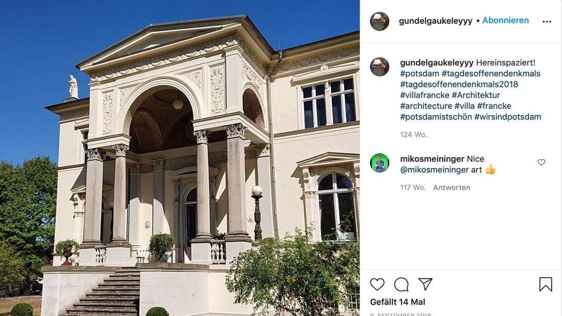 """Die """"Villa Francke"""" 2018 am Tag des Offenen Denkmals"""