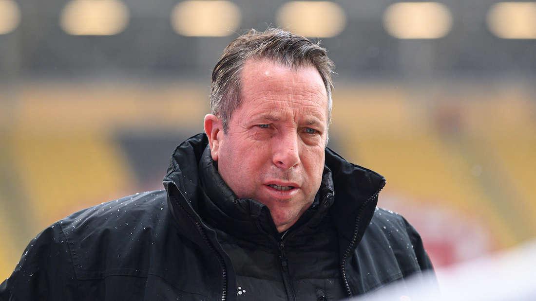 Dynamo-Trainer Markus Kauczinski weiß um die Stärken des SV Waldhof.