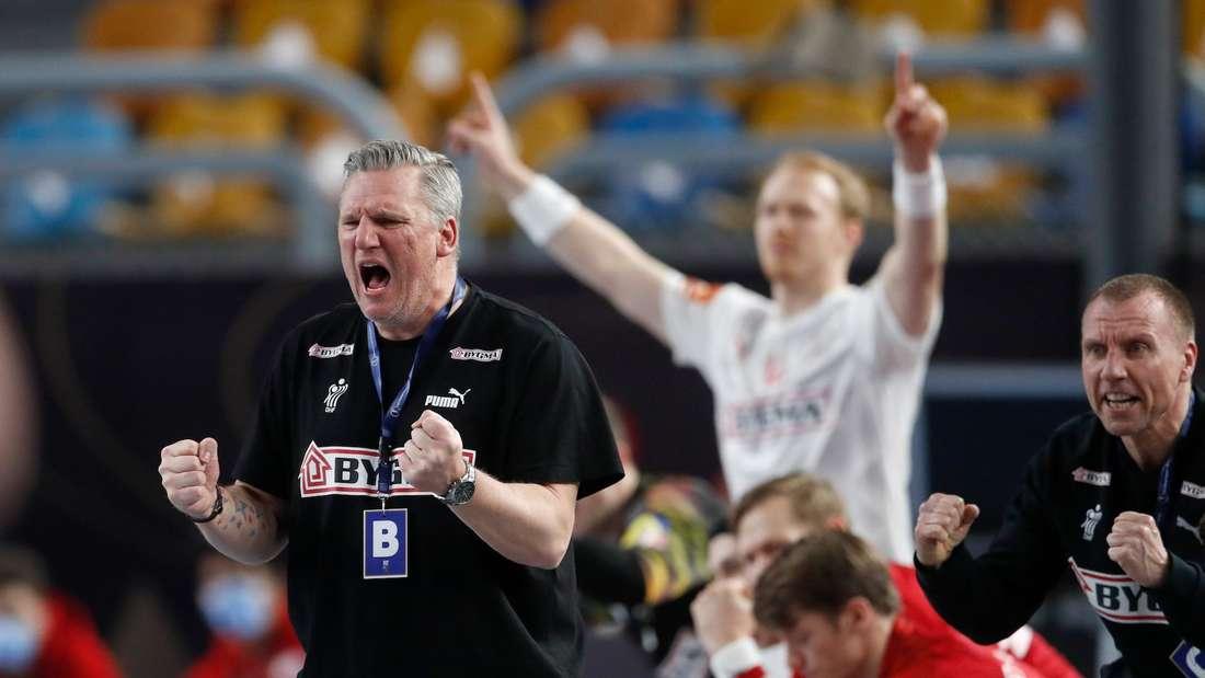 Ex-Löwen-Coach Nikolaj Jacobsen steht mit Dänemark im WM-Finale.