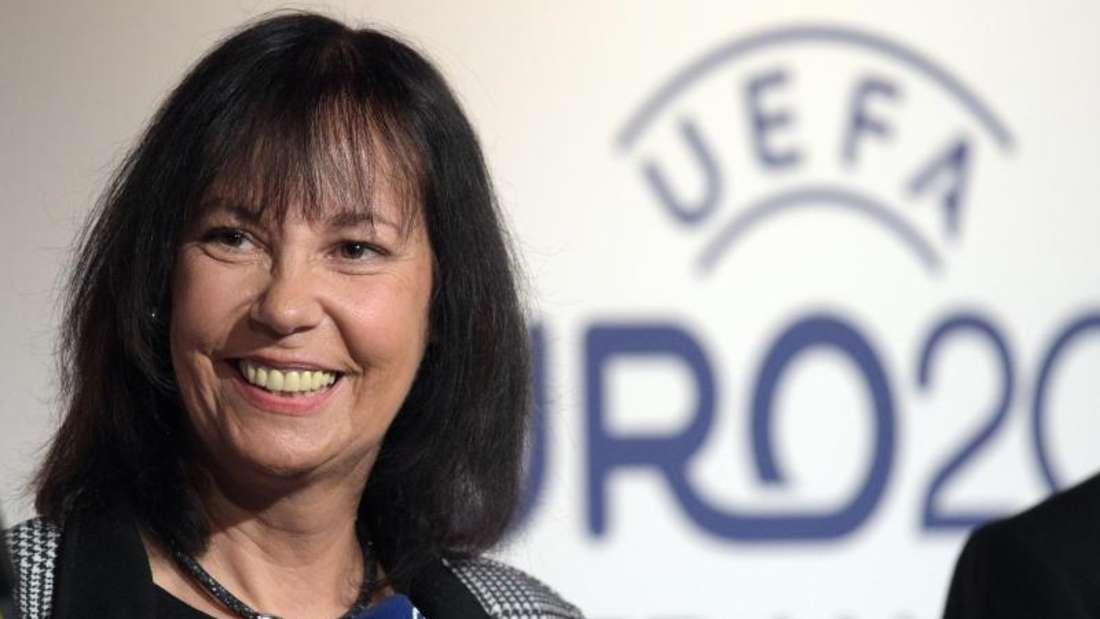 Fußball-Reporterin Sabine Töpperwien