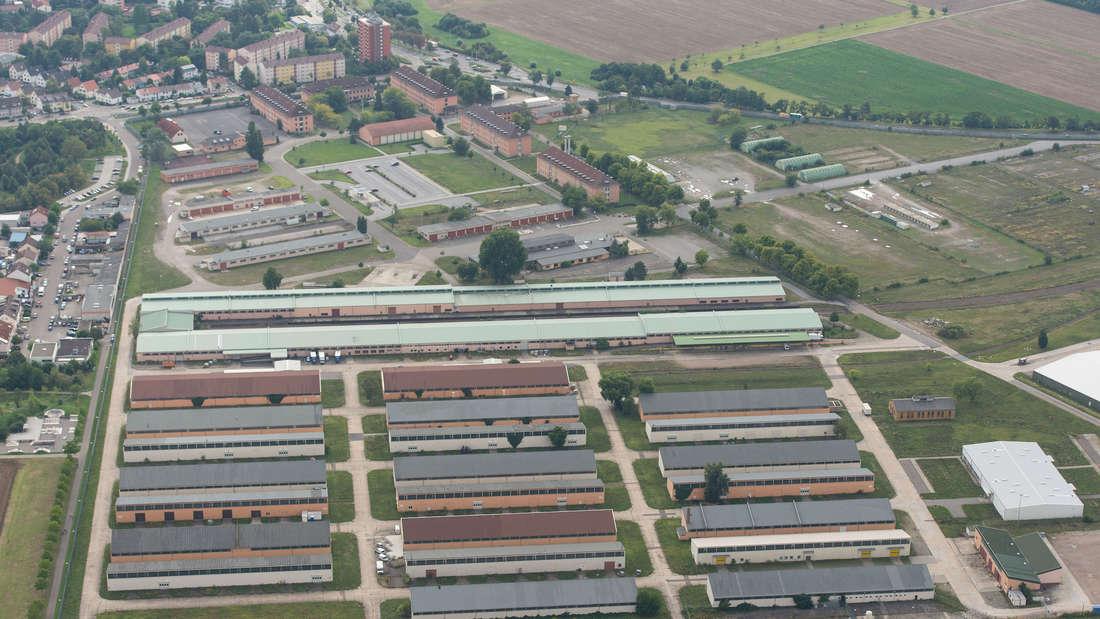 In den Umbau der U-Halle bei den Spinelli Barracks fließen 1,7 Mio. Euro Städtebauförderung.
