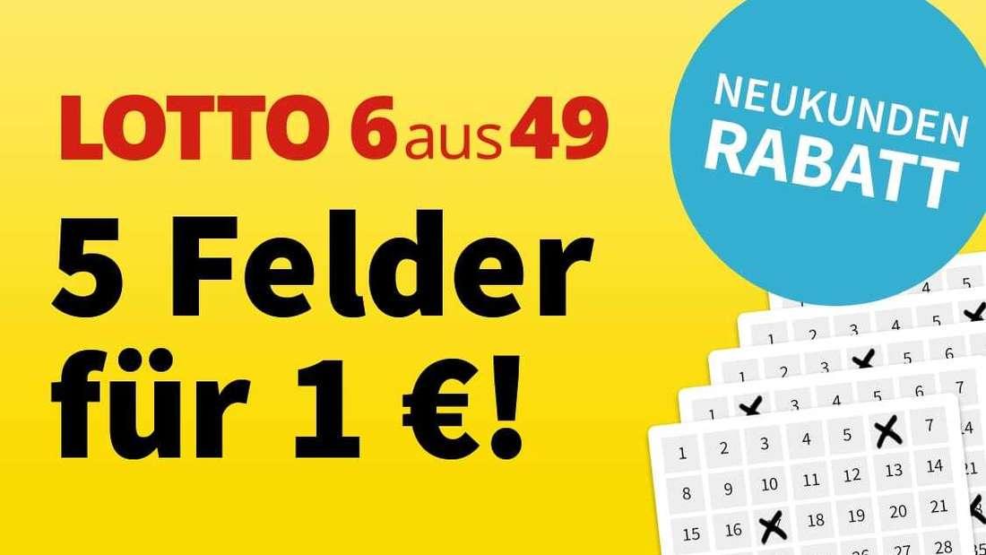 LOTTO 6aus49 – Jetzt 5 € Rabatt sichern und auf die Gewinnzahlen tippen.