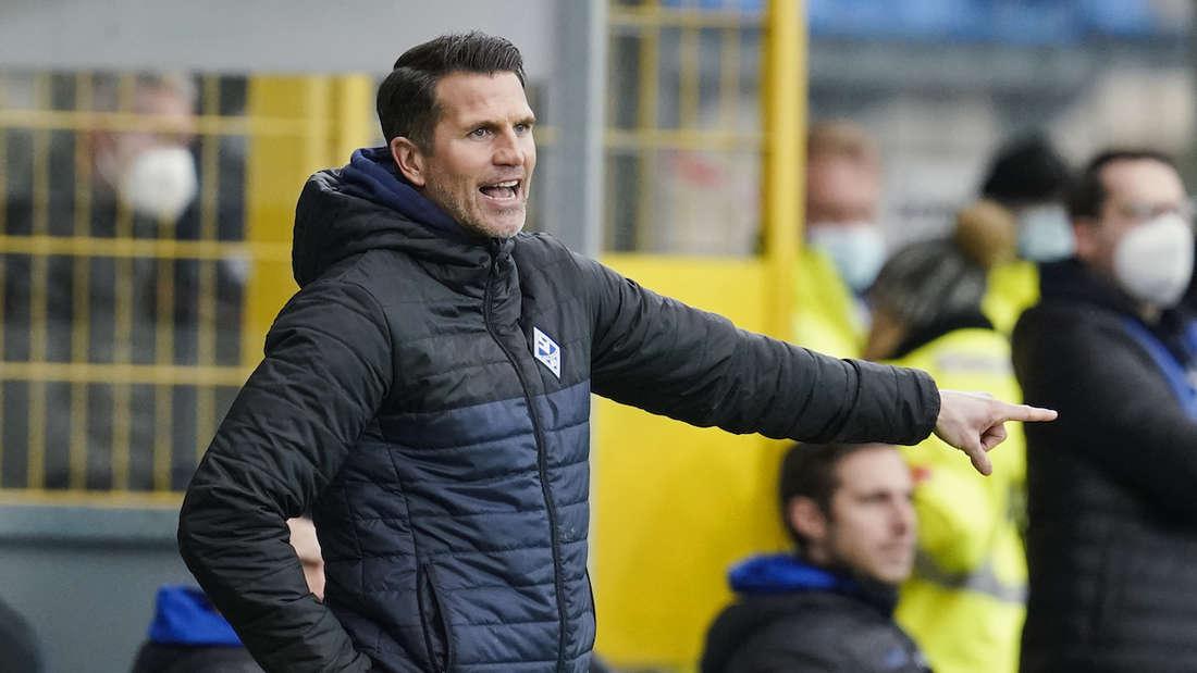 Waldhof-Trainer Patrick Glöckner hat mit seinem Team erstmals im neuen Jahr verloren.