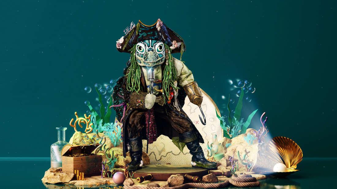 """Die Schildkröte in der 4. Staffel von """"The Masked Singer"""""""
