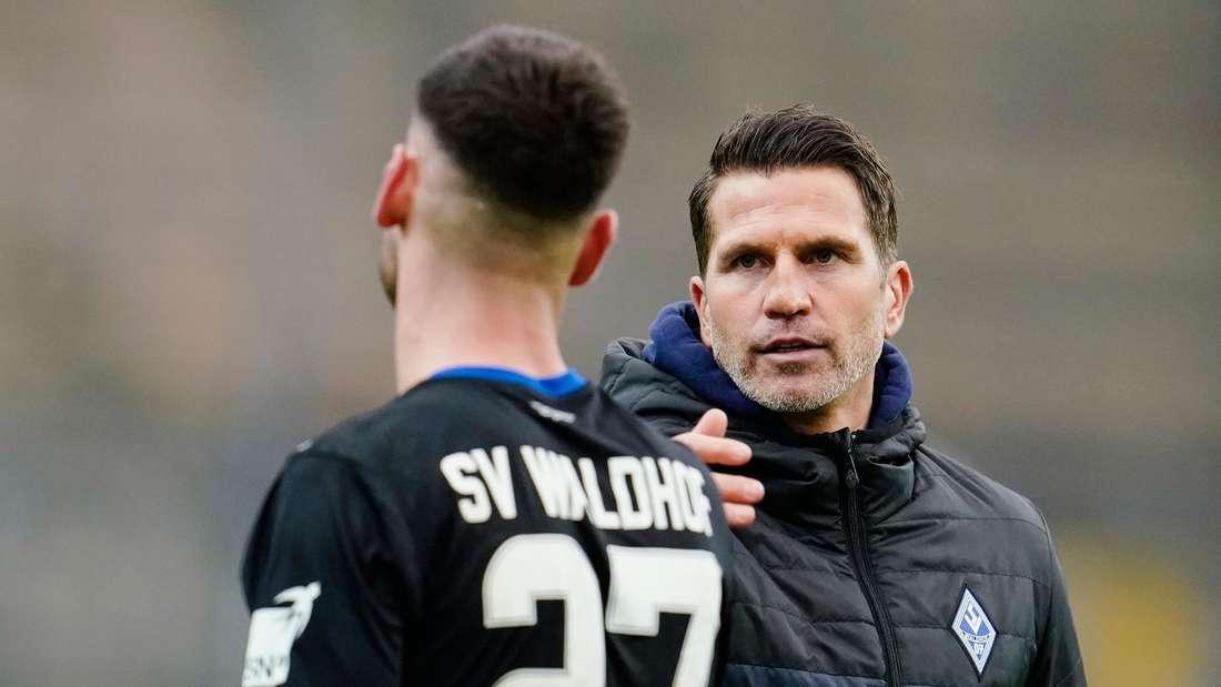 Waldhof-Trainer Patrick Glöckner fordert von seiner Mannschaft eine Reaktion.