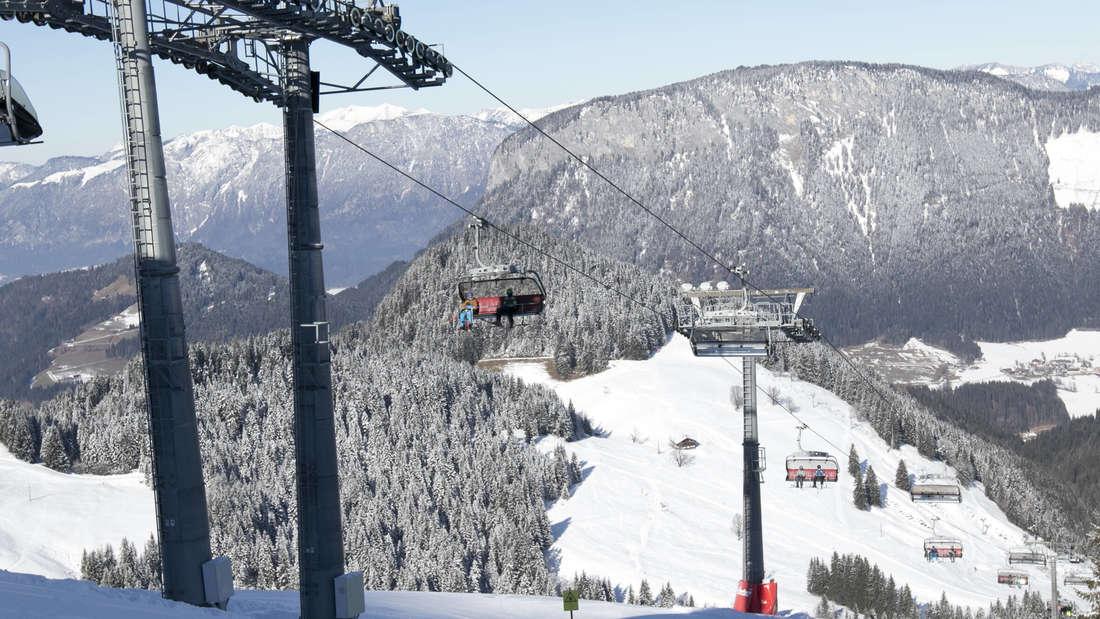 Kaum was los in Corona-Zeiten: die Ski-Welt Wilder Kaiser im Tiroler Brixental.