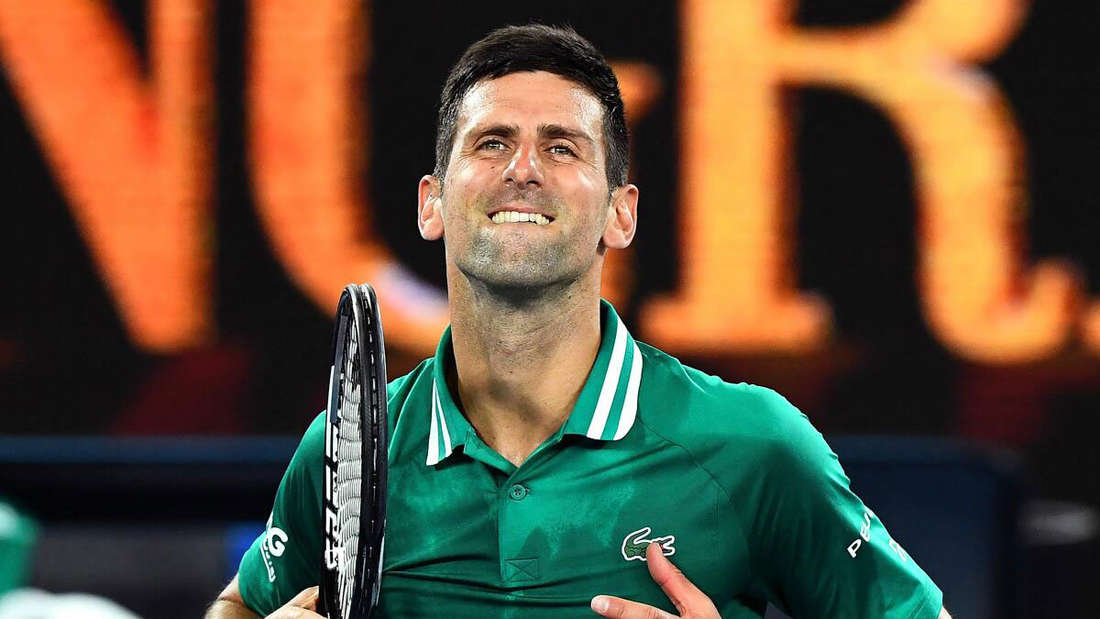 Novak Djokovic besiegt Alexander Zverev im Viertelfinale der Australian Open.