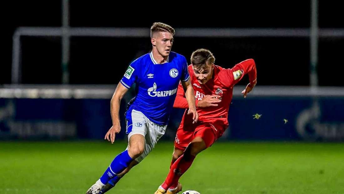 Florian Flick spielt seit Sommer 2020 für die zweite Mannschaft von Schalke 04.