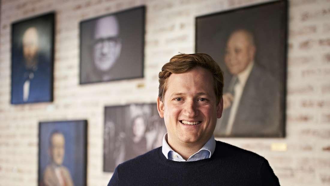 Max Spielmann, Geschäftsführer der Welde-Brauerei, blickt kämpferisch in die Zukunft.