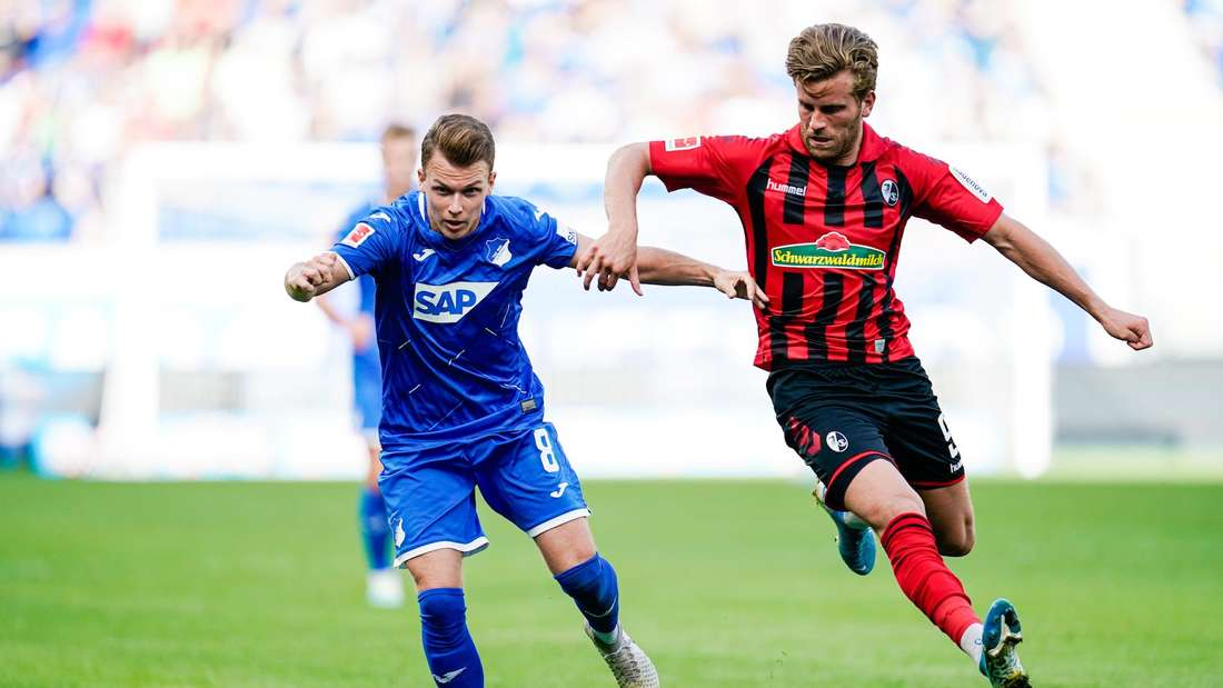Dennis Geiger (li.) wird in dieser Saison nicht mehr für Hoffenheim zum Einsatz kommen.