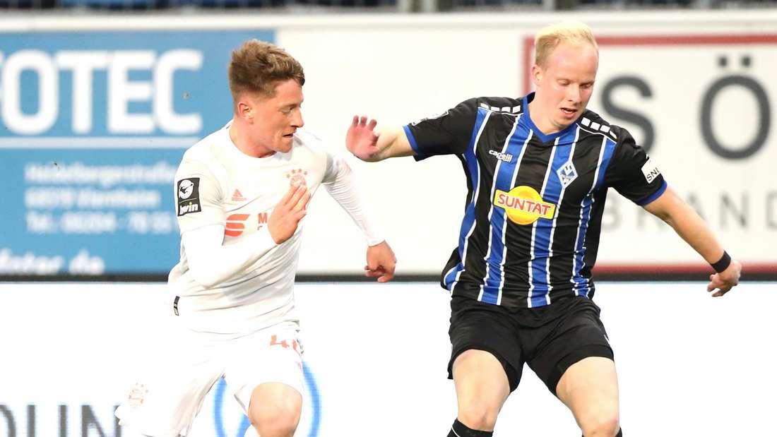 3. Liga: SV Waldhof Mannheim - FC Bayern München II