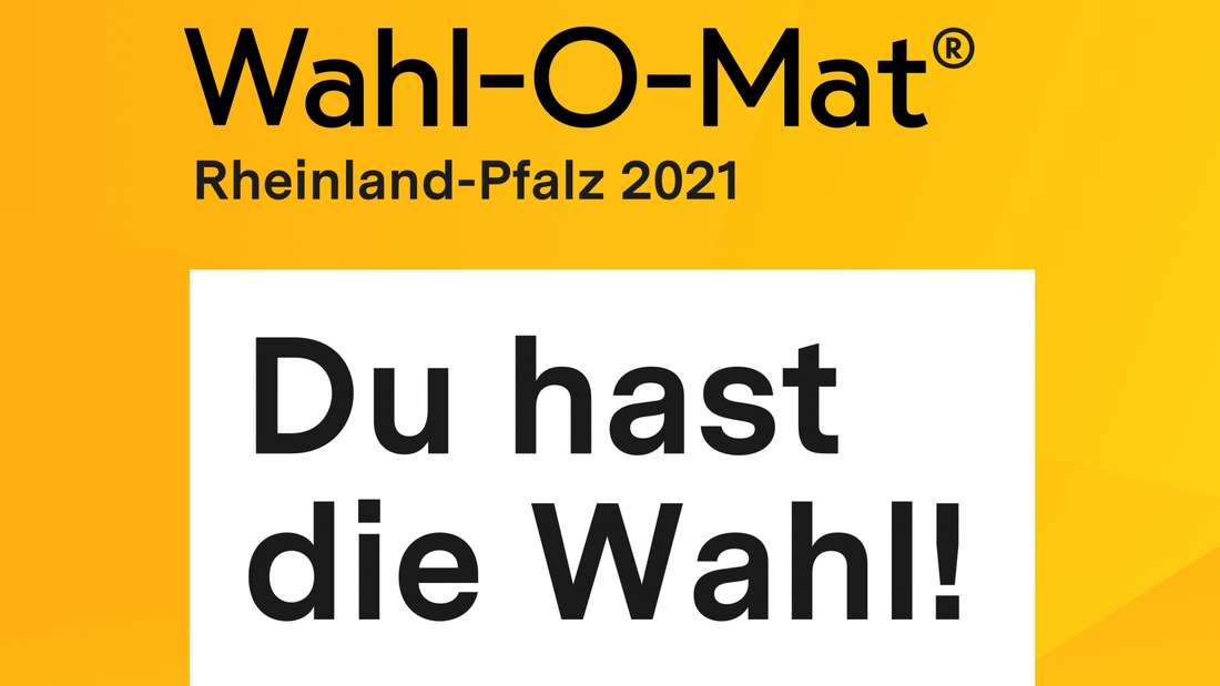 Logo des Wahl-O-Mat für Landtagswahl Rheinland-Pfalz 2021.