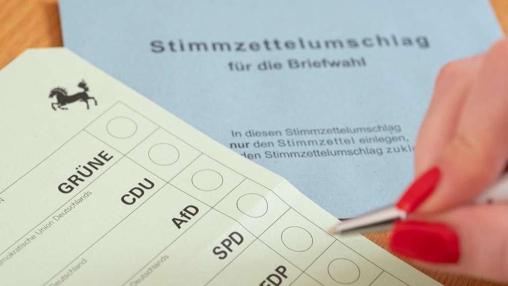 Wahlzettel Baden Württemberg 2021