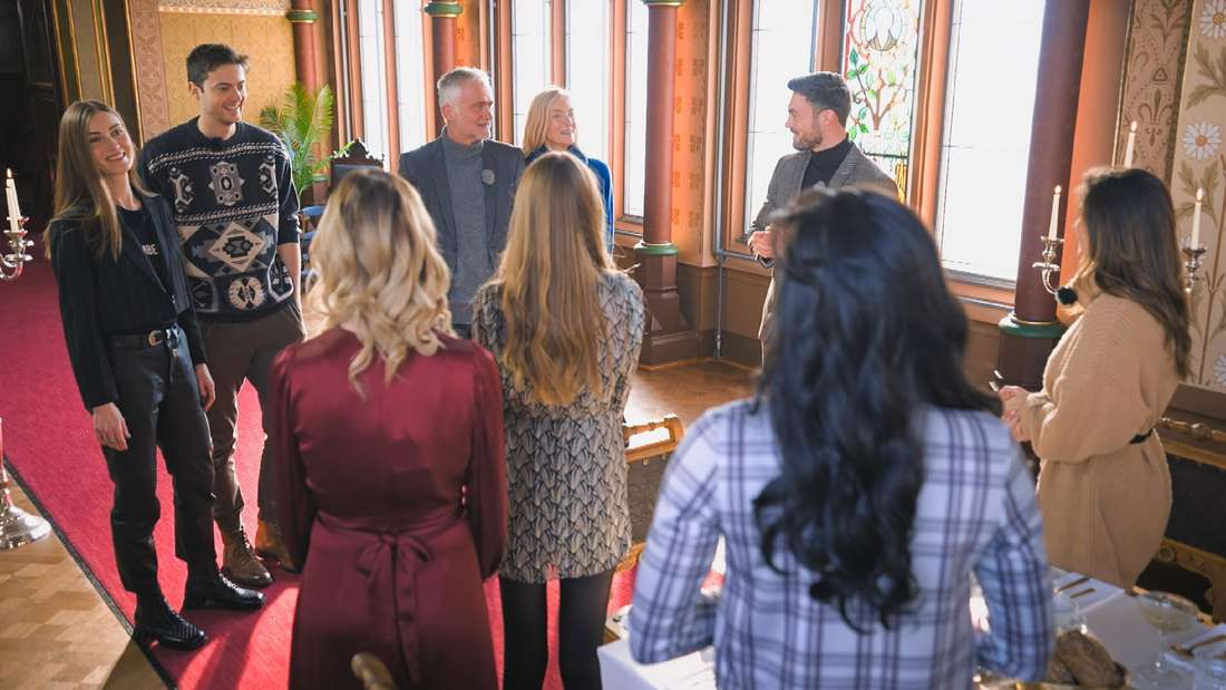 Der Bachelor: Die Kandidatinnen treffen auf die Familie von Niko Griesert
