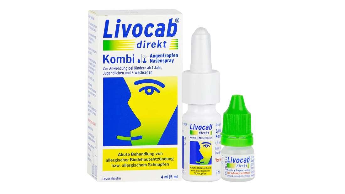 Livocab direkt Kombi Augentropfen und Nasenspray