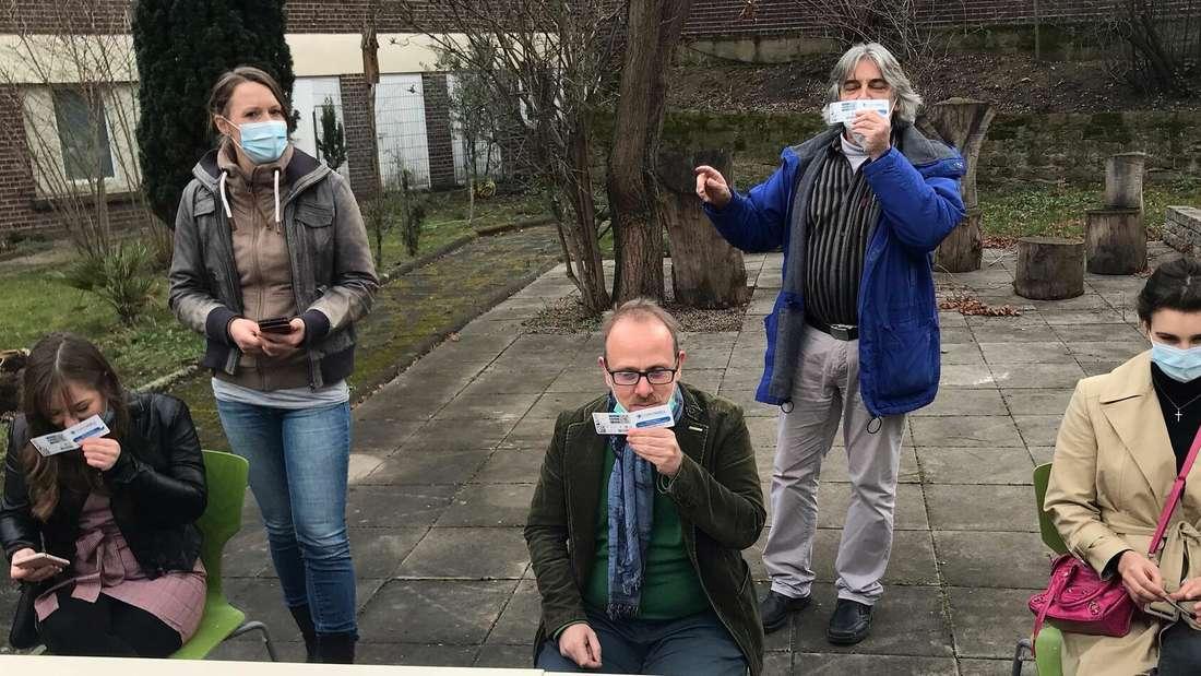 In Mannheim werden an Schulen Geruchttests durchgeführt.