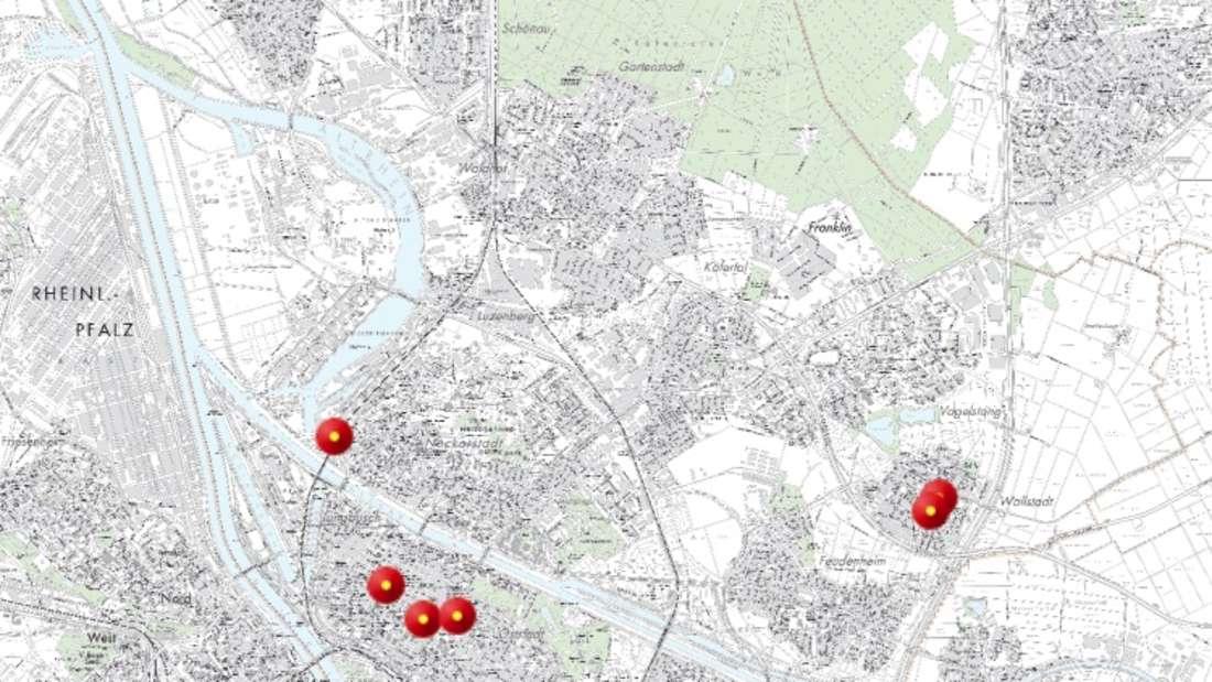 Auf dieser Karte werden nach und nach alle Schnelltest-Anlaufstellen eingetragen.