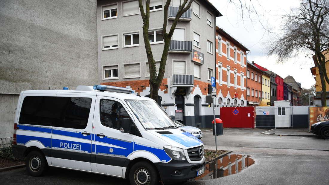 Razzia im Mannheimer Stadtteil Neckarstadt-West.