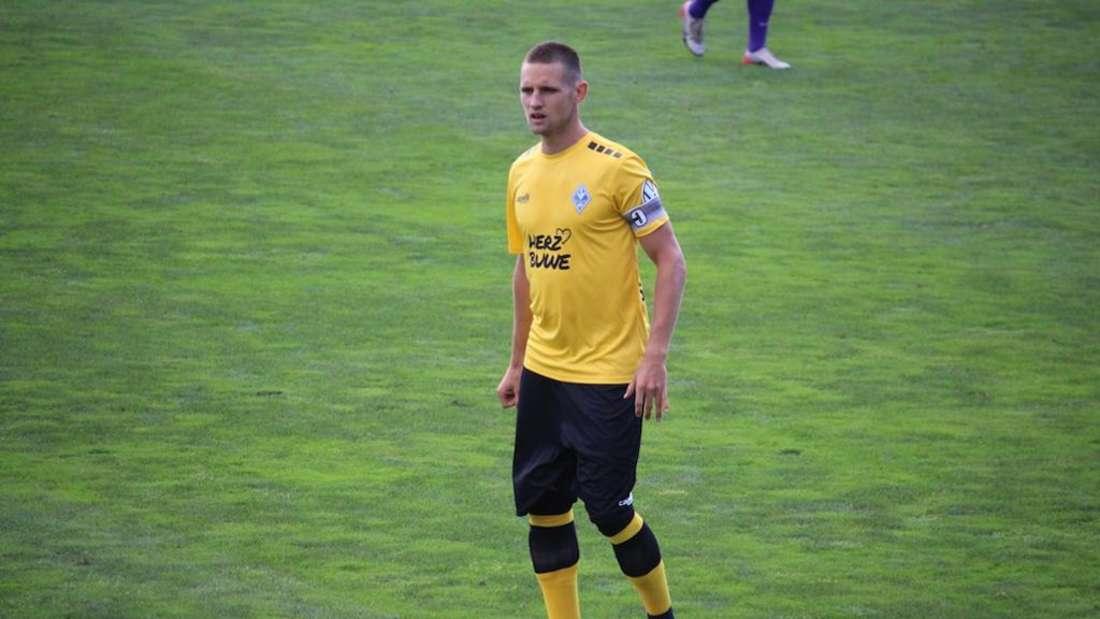 Marco Schuster spielt seit 2017 beim SV Waldhof.