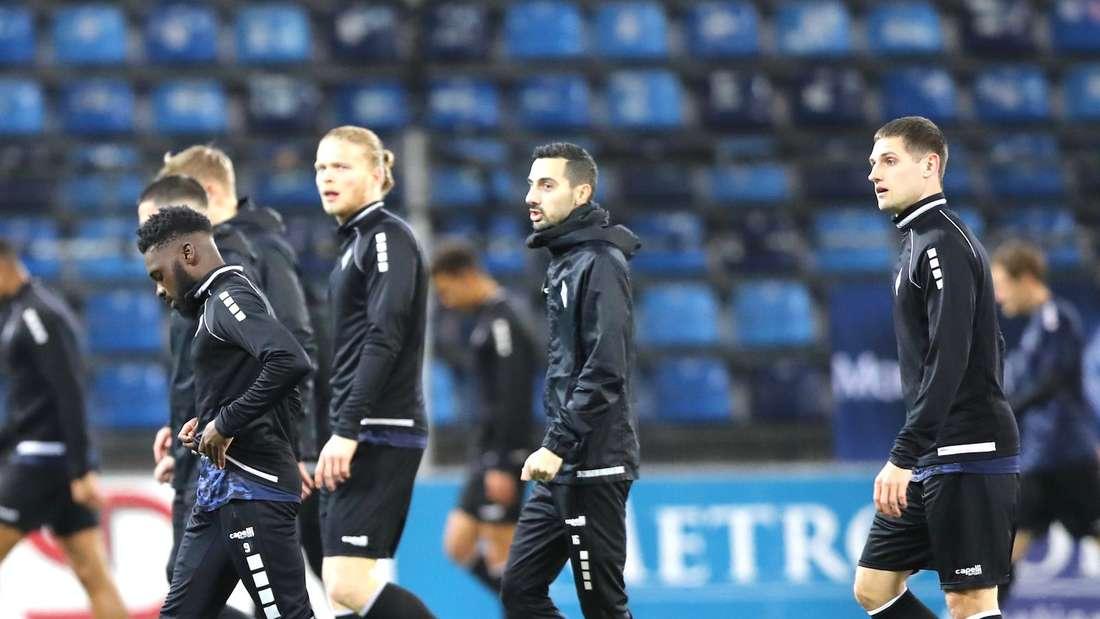 Marco Schuster (r.) wird den SV Waldhof Mannheim verlassen.