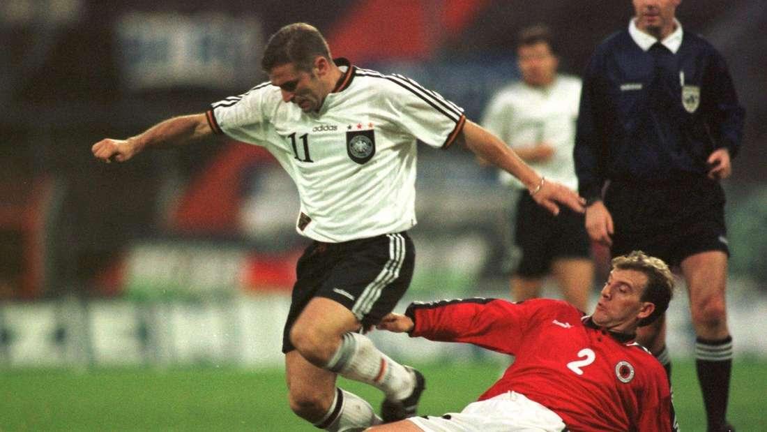 Deutschland gegen Albanien Stefan Kuntz