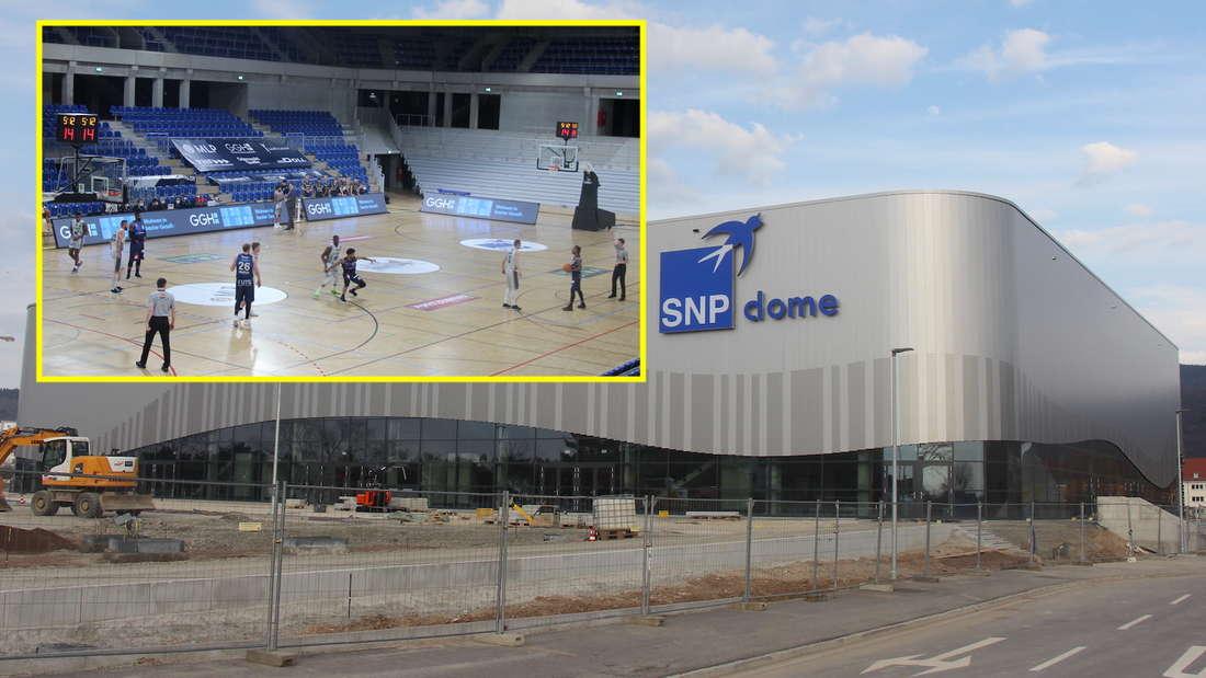 Die MLP Academics Heidelberg haben den SNP Dome am Donnerstag (25. März) offiziell eingeweiht.