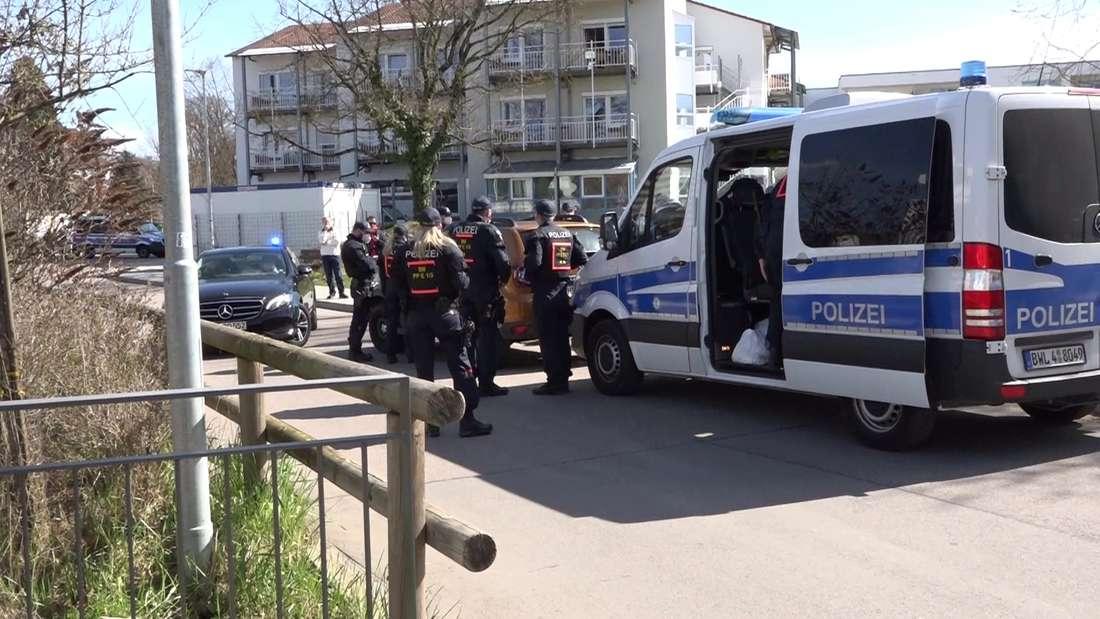 Sinsheim: Schon vor der Querdenker-Demo wird ein Polizist verletzt.