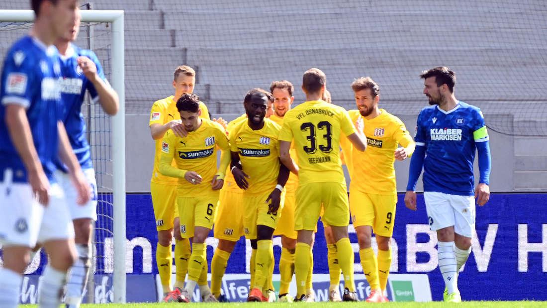 Der Karlsruher SC verliert gegen den VfL Osnabrück.