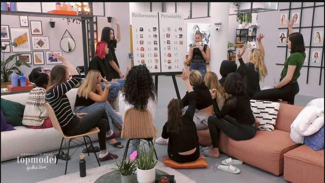 "GNTM: Models stimmen beim ""Personality-Ranking"" ab"