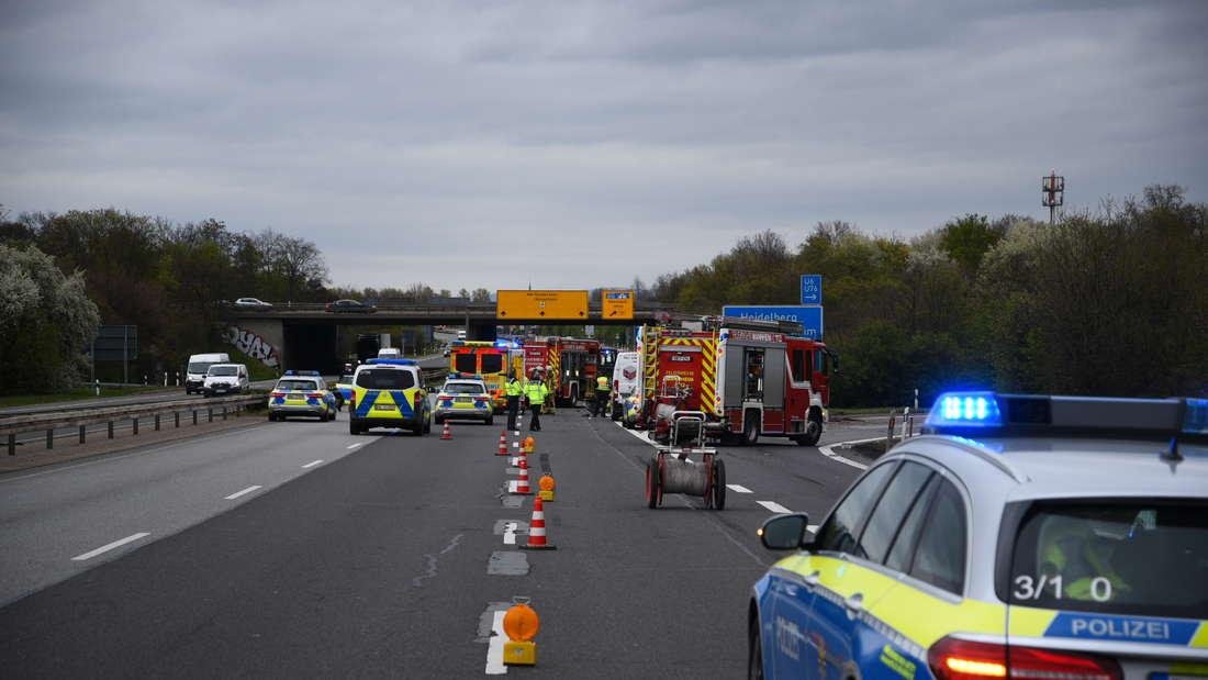 Auf der B38a ereignet sich am Mittwochmorgen ein Unfall.