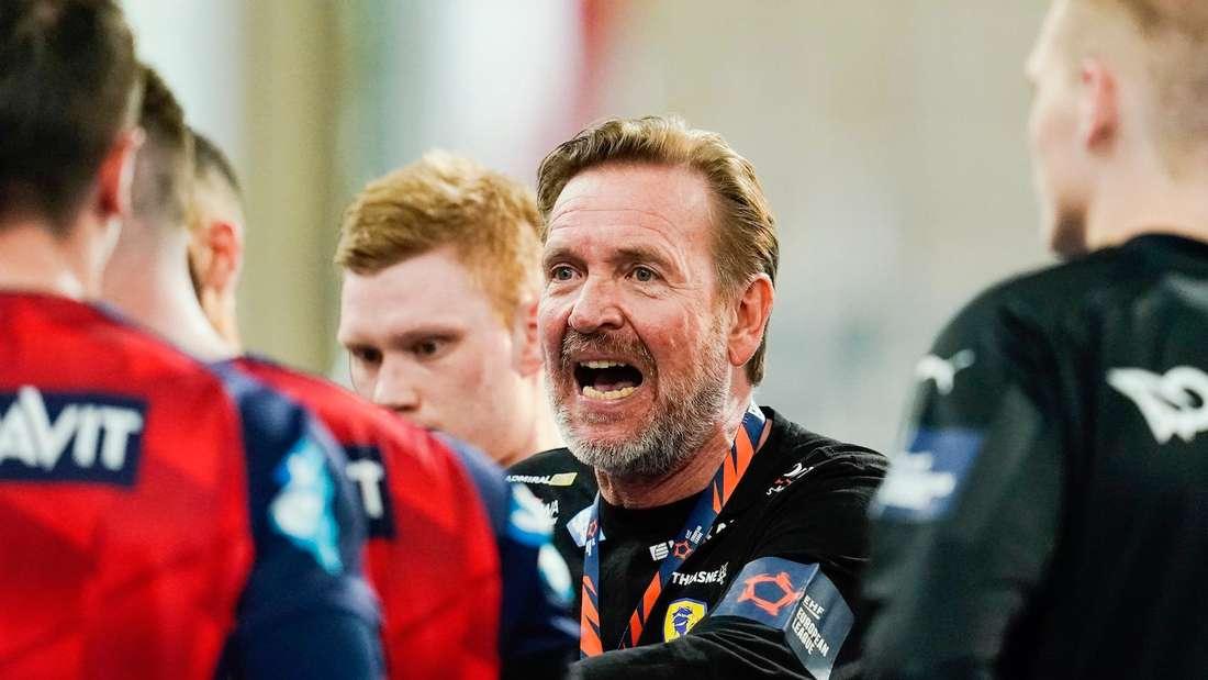 Löwen-Coach Martin Schwalb will mit seinem Team ins Final Four einziehen.