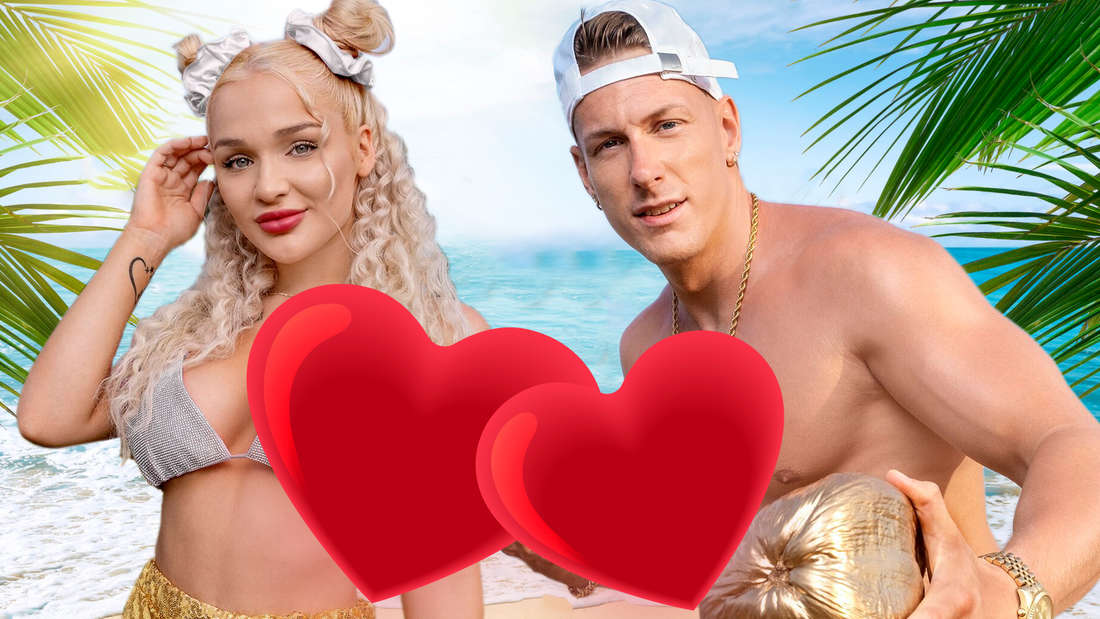 Promis unter Palmen: Emmy Russ und Calvin Kleinen haben eine Nacht miteinander verbracht.